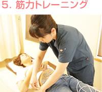 岩倉市ハンズ治療院・整骨院の産後骨盤矯正 筋力トレーニング
