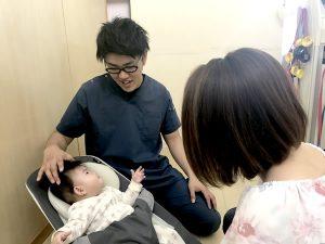 患者様とお子さまと一緒に