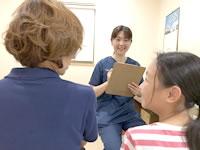 岩倉市のハンズ治療院・接骨院の猫背キッズプログラムヒアリング